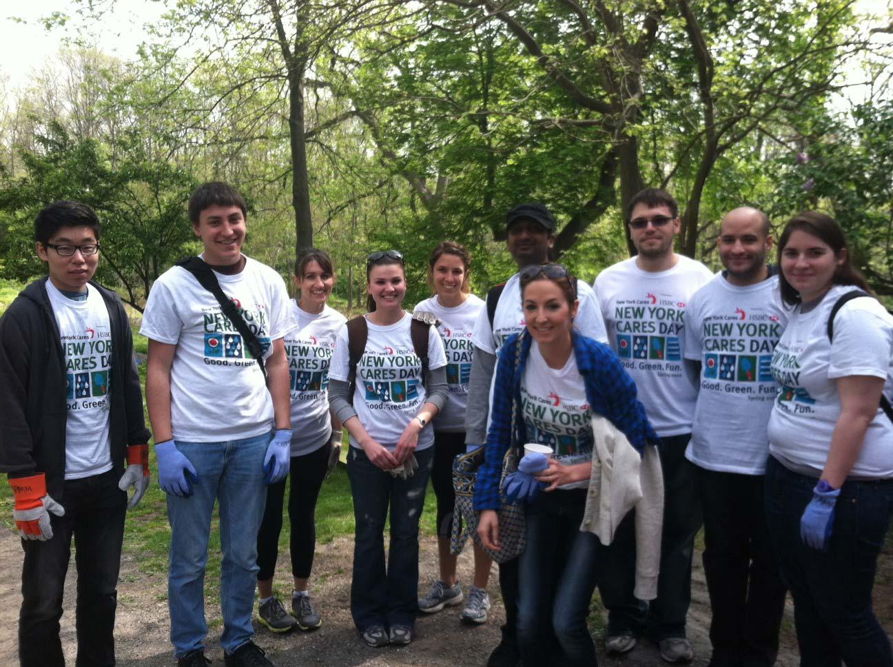 OnSIP at New York Cares Day Group Shot