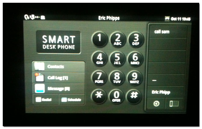 panasonic kx-ut670 phone app