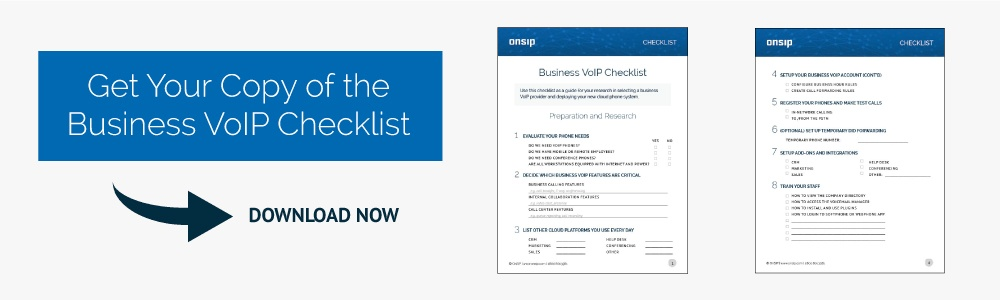Business VoIP Checklist