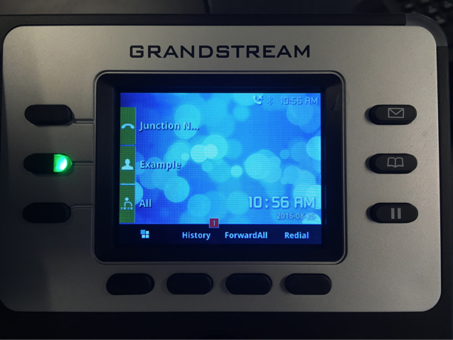 Grandstream Screen