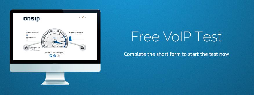 VoIP Test | OnSIP