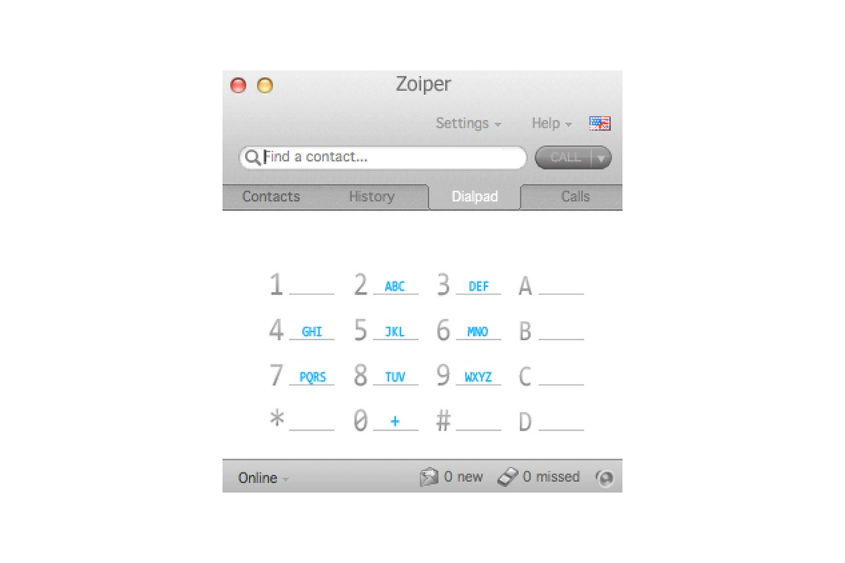 Zoiper for Mac